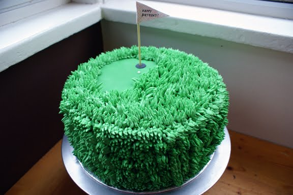 golf3 Oh this funny little Coco Cake specialty cake was a real chuckle for me to ...