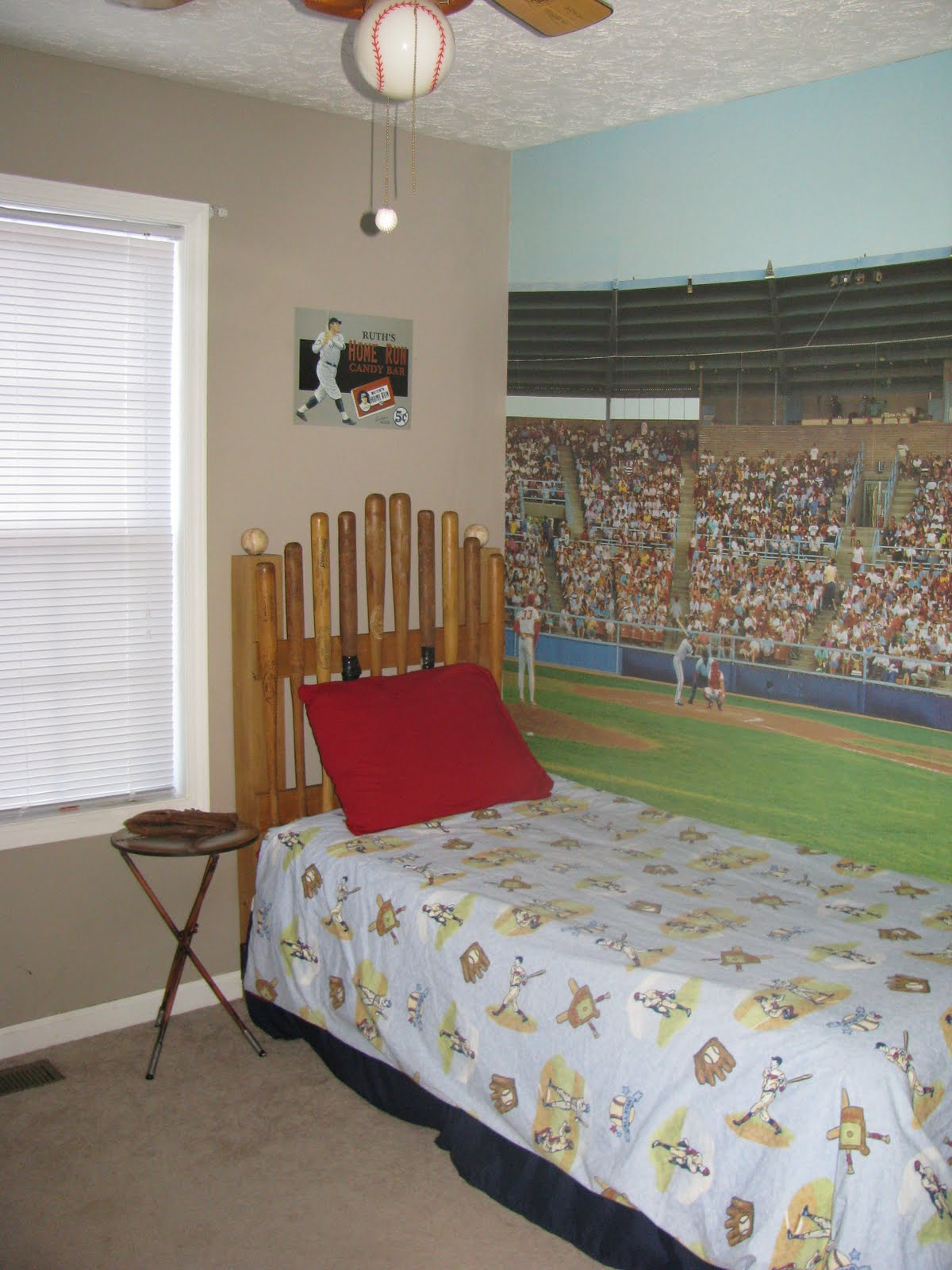 Chappell Of Love Baseball Room Headboard