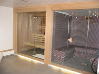 Steam Rooms and Saunas in a Spa