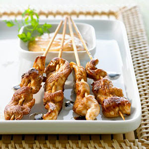 Thai Chicken Saté ( Gai Sate ) Recipe ~ Easy Recipes