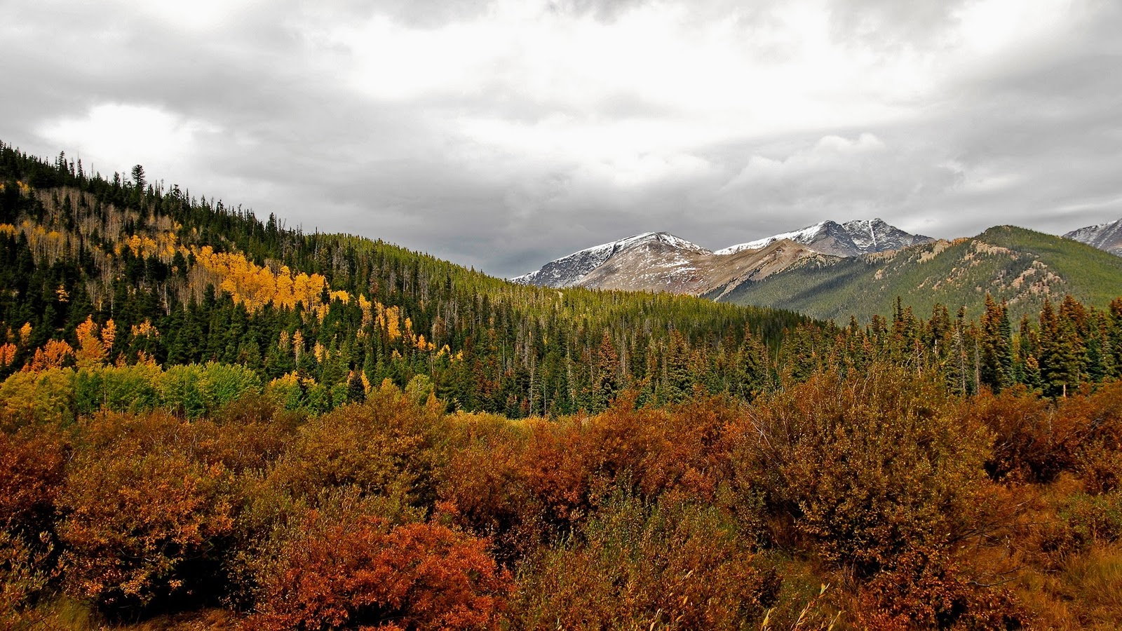 Fall Mountain Landscapes
