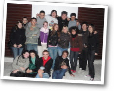 We the students of the torneo team!