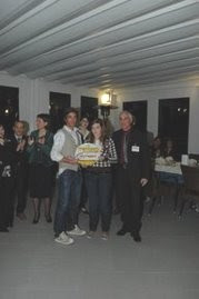 Prize giving cerimony