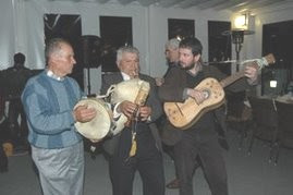 "The folk group ""I suoni del Pollino"""