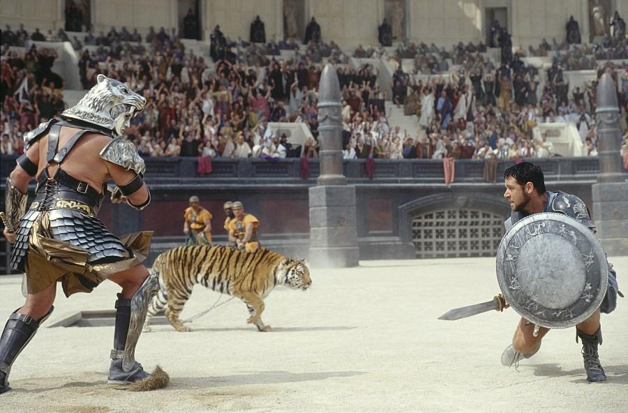 Foto extraída de la película Gladiator (Gladiador en castellano)