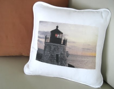 Handmade Custom Photo Pillow