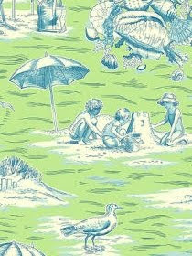 coastal Toile Fabrics