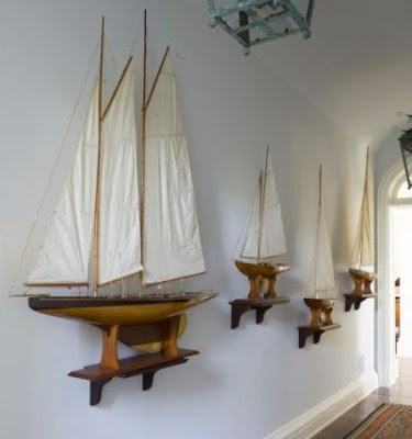 Nautical Home Decor on Know Your Boats Are Not As Slender As These Sailboats   But Vertical