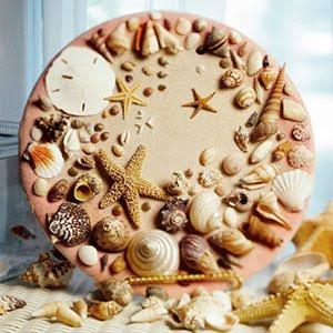 seashell plates