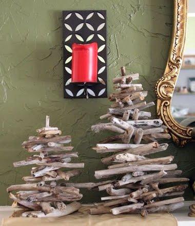 driftwood twig trees