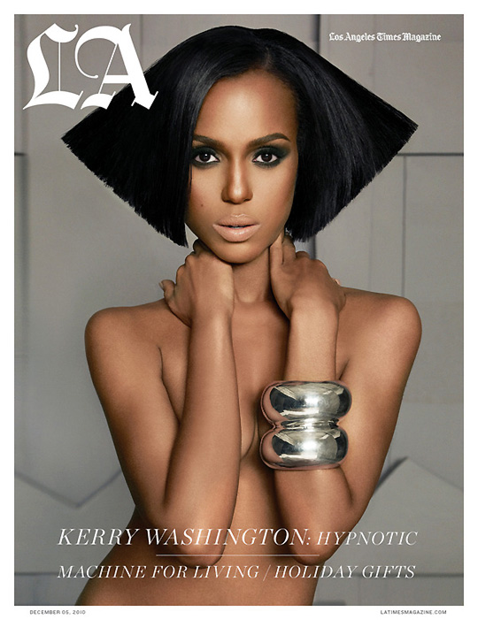 Kerry Washington is a self-proclaimed token white girl trapped in a black ...