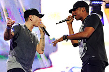 Eminem Brings Out Dr. Dre, 50 Cent for Detroit Show with Jay-Z
