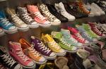 Colorful converses