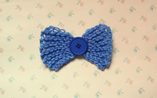 knitted, knit, blue, bow, button, brooch, pin, much love, craft, floral, wallpaper, pretty