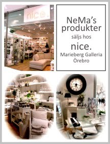 nice. presenter, marieberg galleria - örebro