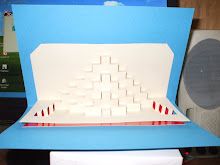 tarjetas de origami arquitectonico