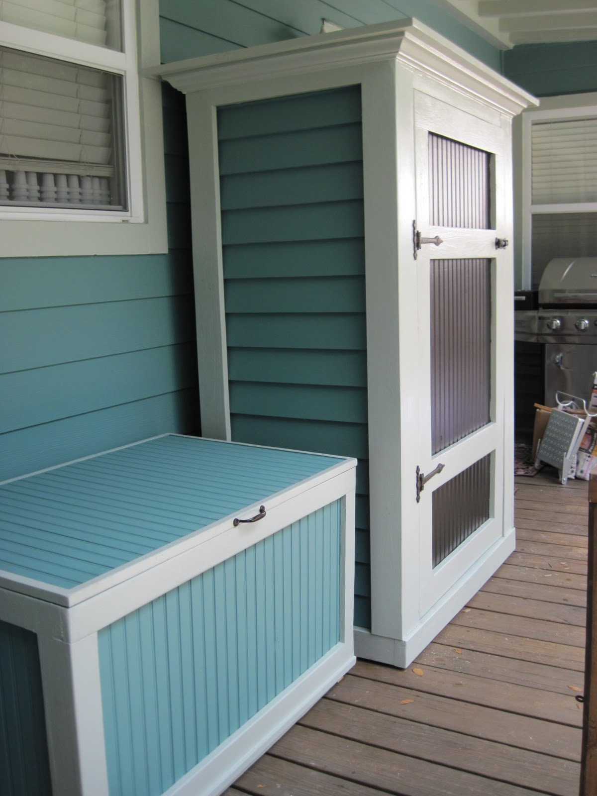 Merveilleux Porch Storage Ideas