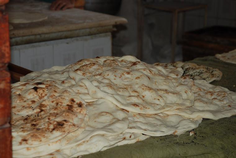 Pan recién hecho.