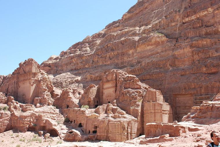 Tumbas en Petra