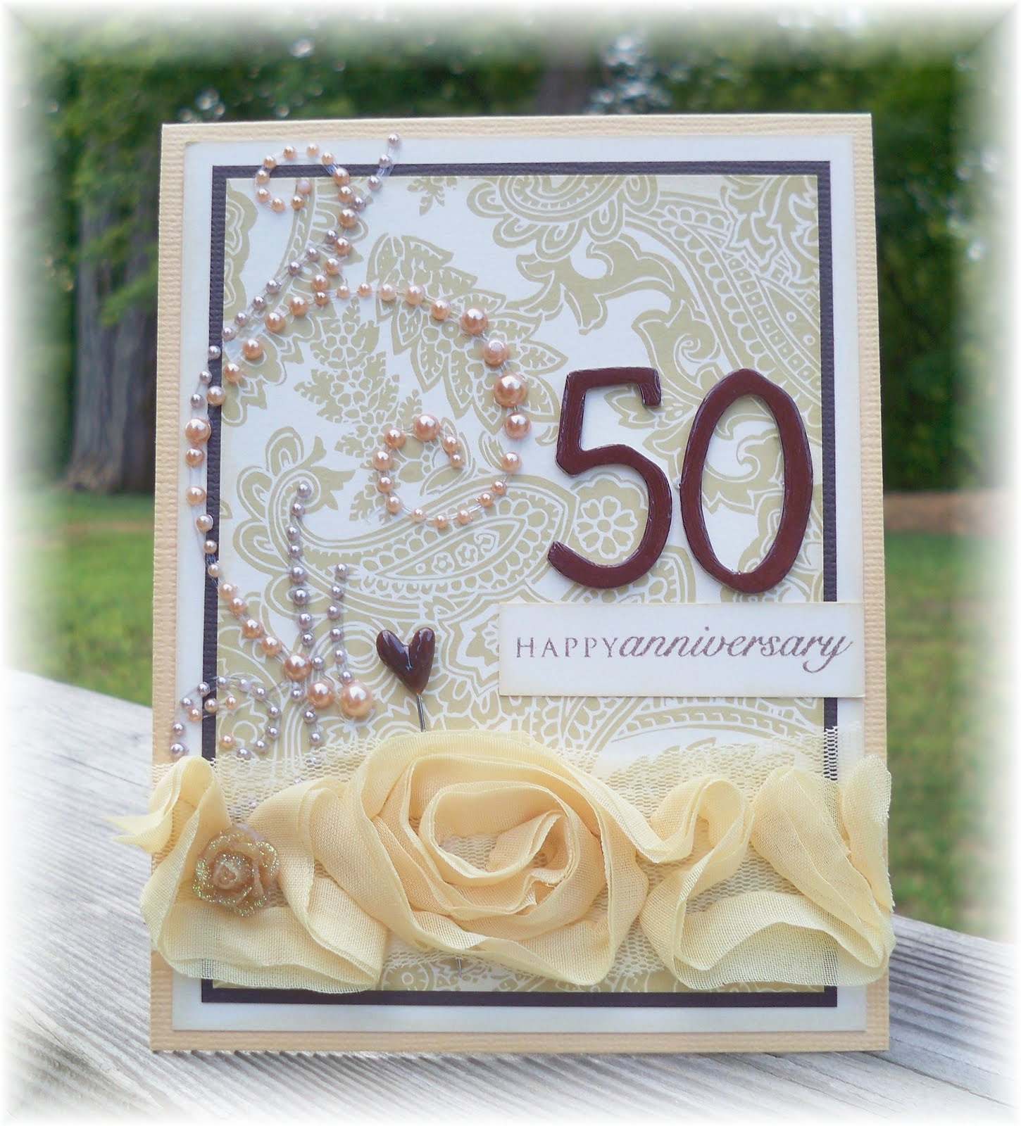 Decorating Ideas For 50th Wedding Anniversary