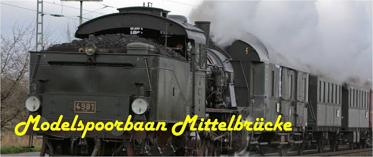 Modelspoorbaan Mittelbrücke