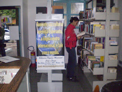 banner nas bibliotecas