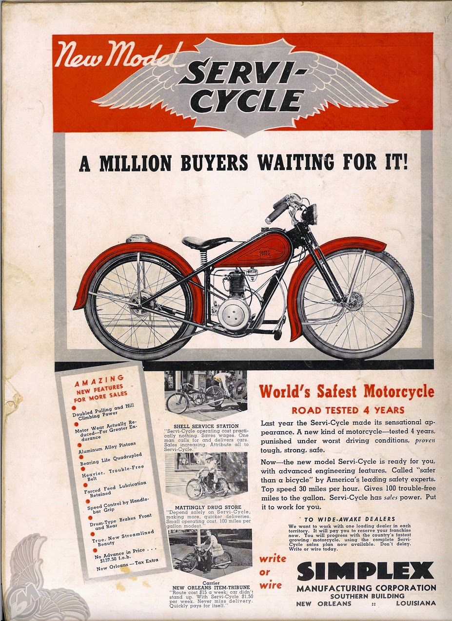 1936 simplex manufacturing corporation ad