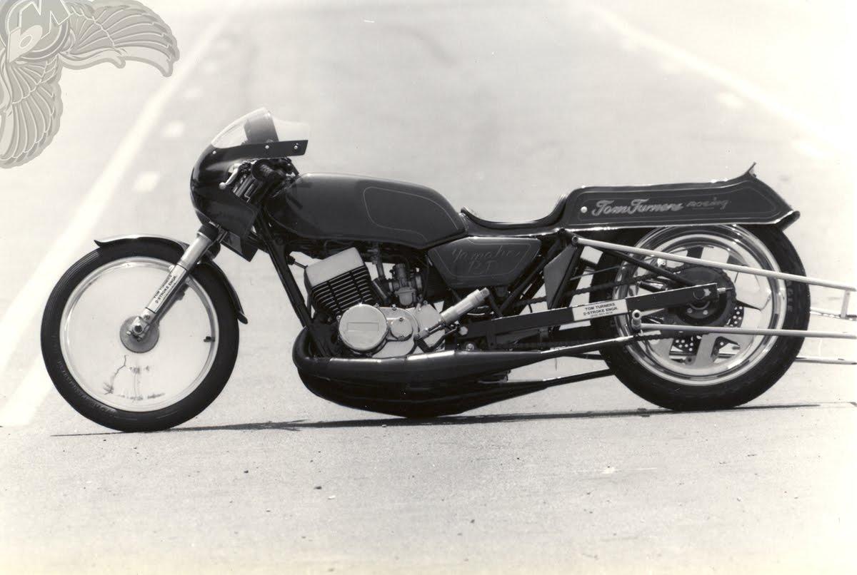 yamaha two-stroke rd350 drag bike | performance machine