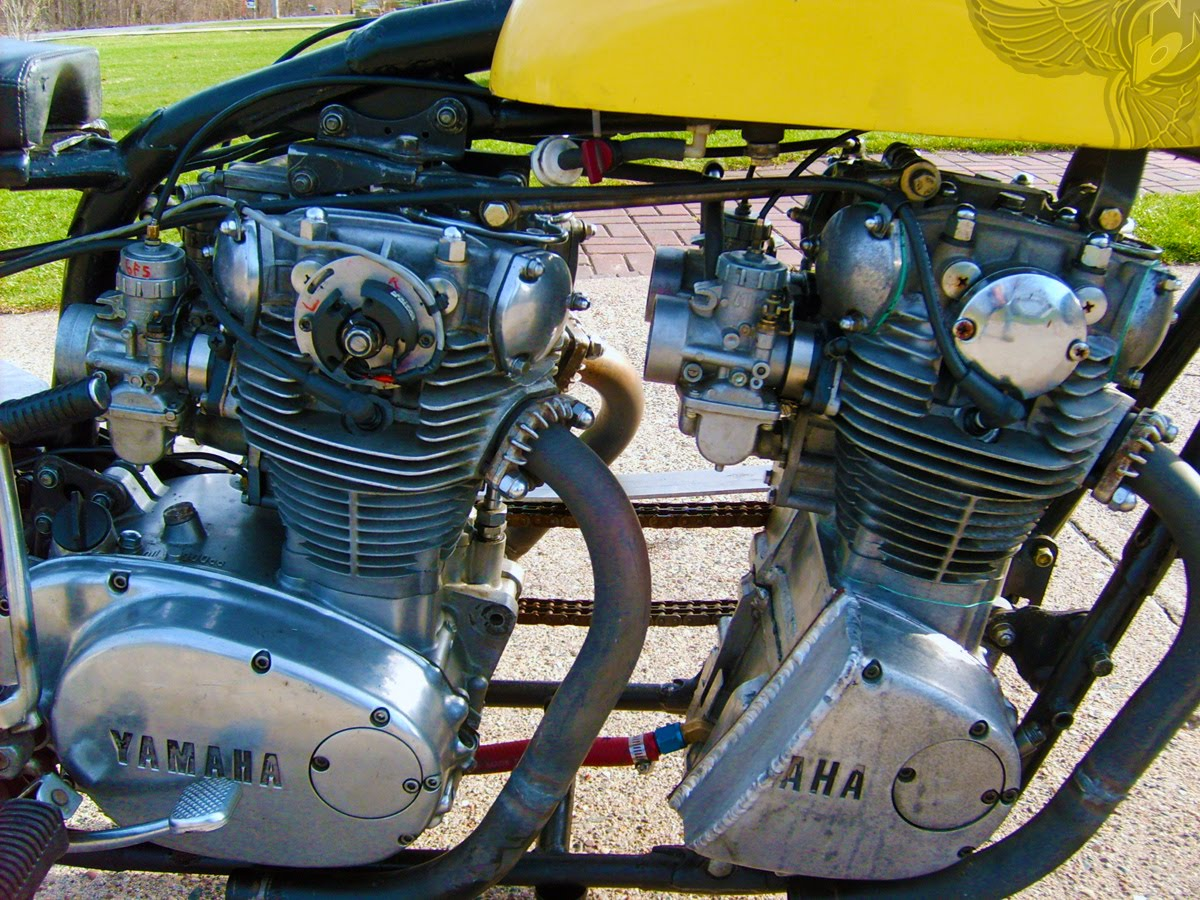 xs650 double motor monster