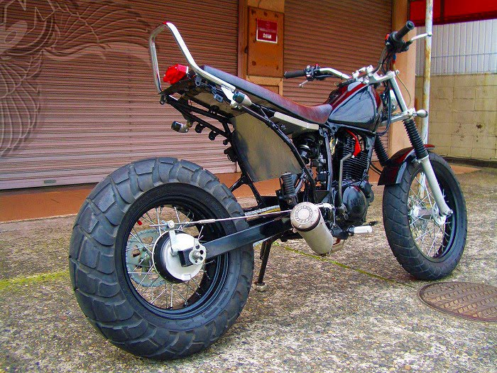 fat tire yamaha thumper