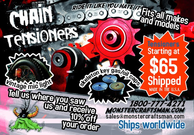 monster craftsman chain tensioners