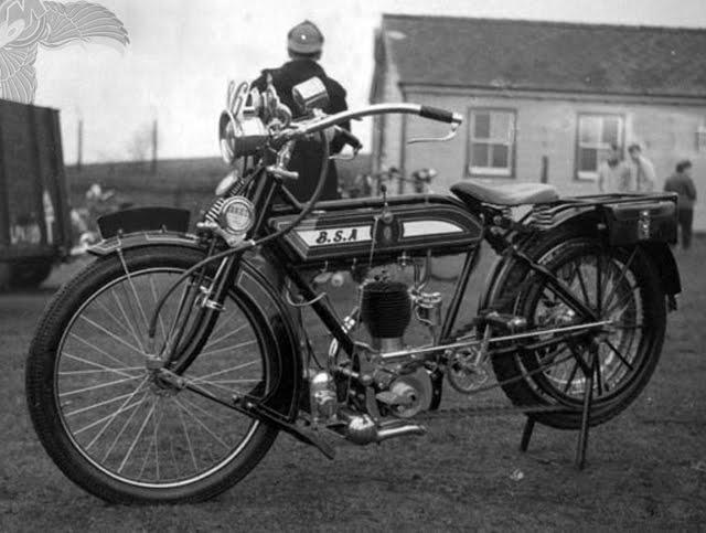 1913 bsa single