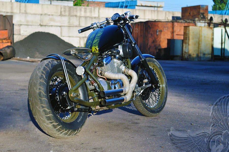 honda vt600 shadow vlx bobber - bikerMetric