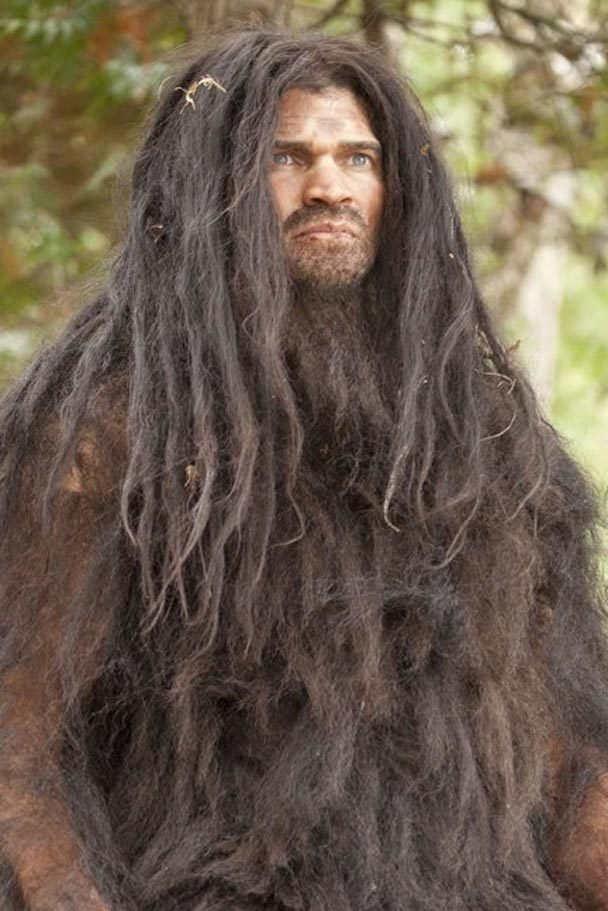 a look at the hairy man like creature bigfoot This footage of a strange hairy human-like creature stalking through a dessert  has stunned the internet.
