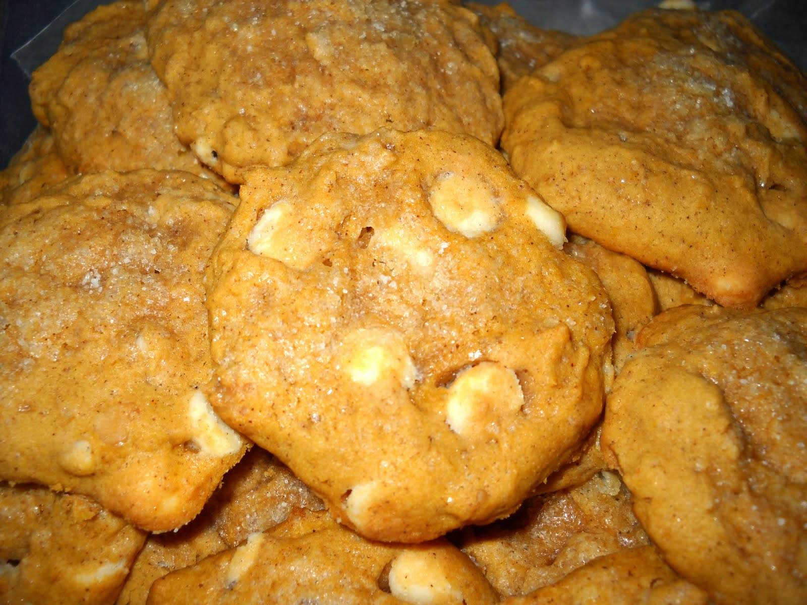 Pumpkin White Chocolate And Macadamia Nut Cookies Recipes — Dishmaps