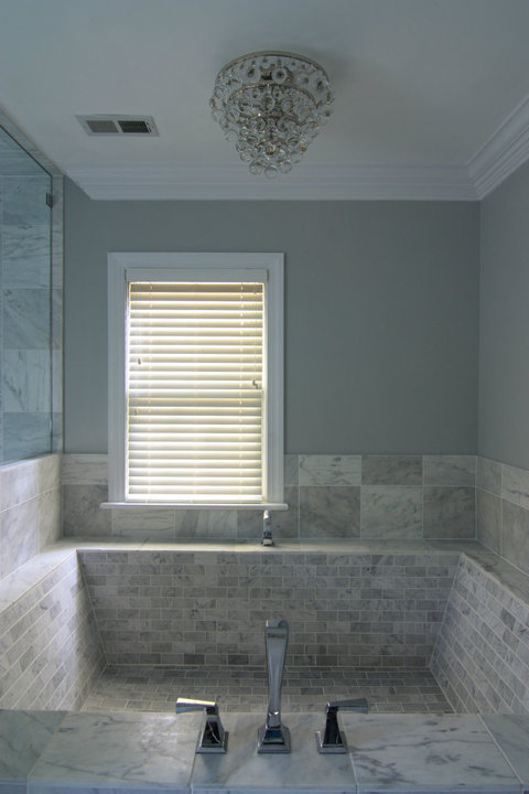 Here Is The Latest Effort By The Bridget Beari Team In Which We Designed  And Made A Roman Tub Out Of Carerra Marble Tiles. It Was A Feat!