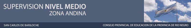 Supervisión NIVEL MEDIO  - Zona Andina  - Bariloche