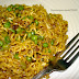 Maggi Noodles recipe with Minced Chicken and Peas