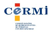 Logotipo del Comité Español de Representantes de Personas con Discapacidad