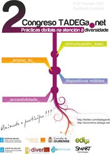 Cartaz 2º Congreso TADEGa