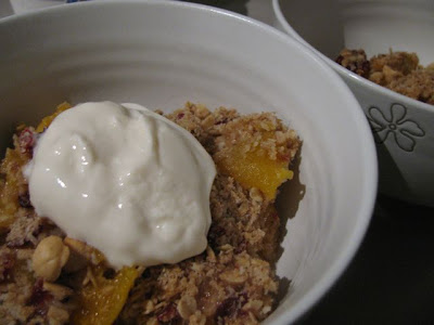 appel abrikoos crumble