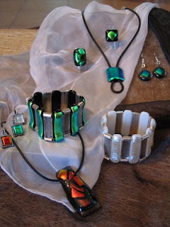 Photo of More glass jewelry
