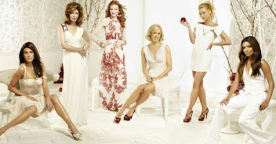 Photo of Eva Longria, Marcia Cross, Nicolette Shredian and Felicity Huffman