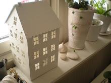 Jag köpte mig ett vitt hus.