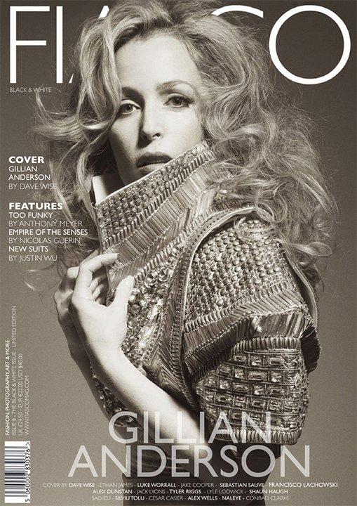 Fiasco Magazine Gillian Anderson. cover: Gillian Anderson by