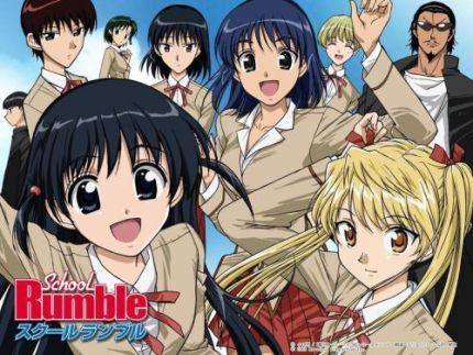Animes para RIR! - Página 2 SchoolRumble