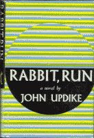 Rabbit, Run by John Updike first edition front cover