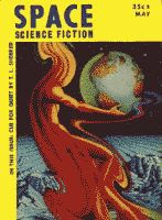 Space Science Fiction May 1953 front cover