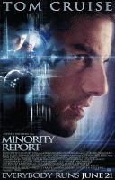 Minority Report color movie poster