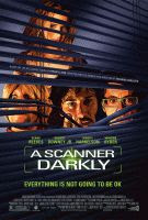 A Scanner Darkly color movie poster